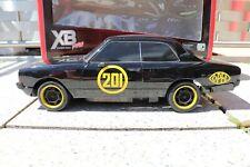 Tamiya Opel Rekord C 1/10 RC XB Schwarze Witwe Opel Models TT-01E vintage