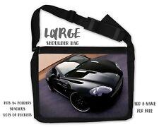Aston Martin Shoulder Messenger Personalised Travel Uni College School Bag