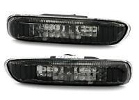 2 CLIGNOTANT REPETITEUR NOIR CRYSTAL BMW E46 SERIE 3 PHASE 1 BERLINE