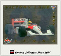1994 Adelaide Grand Prix Trading Cards VICTORY LINE Subset VL7 Ayrton Senna