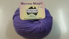 Heirloom Merino Magic 8 Ply #513 Blueberry 100% Wool