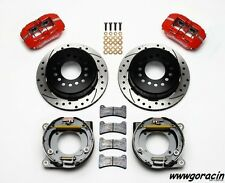 "Impala,Corvette, Wilwood Dynapro Rear Parking Brake Kit,11"" Drilled Rotors,SALE!"