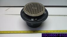 Zurn Round Floor Drain Assembly with Clamp Collar 55837-053 47047-001