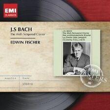 """EDWIN FISCHER """"DAS WOHLTEMPERIERTE KLAVIER"""" 3 CD NEU"""