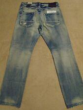 PRPS BARRACUDA GOODS & CO. Light Wash Jeans Mens 36 x 32.5 Orig. $275+ SALE!