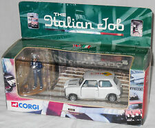 Corgi Mini Cooper 1:36 The Italian Job Car and Driver Figure Gold Bars 04441