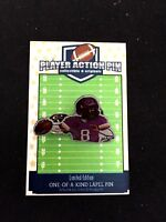 Minnesota Vikings Kirk Cousins jersey lapel pin-Limited Edition-#1 Collectible