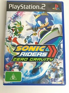 Sonic Riders: Zero Gravity PS2  Playstation PS2