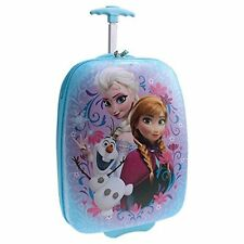 Disney Frozen Elsa, Anna & Olaf Hard Shell ABS Trolley Carry On Luggage/Suitcase