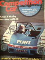Competition Car magazine March 1973- Lancia D50-Fiat X1/9 -Max Mosley