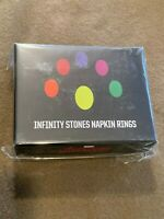 Loot Crate Exclusive Marvel The Avengers Infinity Stones Napkin Rings NEW MIP