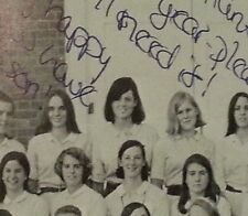 Sigourney Weaver 11th Grade High School Yearbook  1966 Alien Ghostbusters
