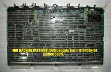 MRI MACHINE PART FOR SALE (MRP 7000 Console Slot # 01 (PCON-D))