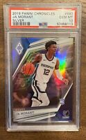 2019-20 Chronicles Phoenix Silver Prizm Ja Morant RC Rookie PSA 10 (LOW POP)