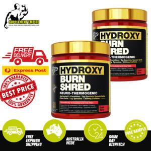 2 X BSC HydroxyBurn BURN SHRED Body Science Fat Burner TWIN PACK oxyshred