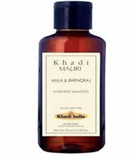 Khadi Mauri Herbals Amla and Bhringraj Herbal Shampoo -210ml | Free Shipping |