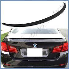 #475 Black Sapphire 11-16 BMW F10 5-Series Sedan 4D M5 Look Add On Trunk Spoiler