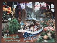 """11"""" X 14"""" WILLY WONKA BOAT SCENE AUTOGRAPHED (SIGNED) BY FIVE + BONUSES!!"""