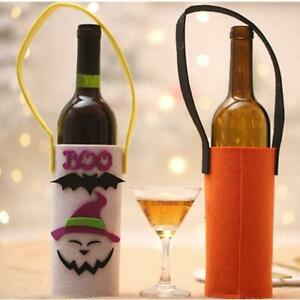 Decoration Wine Bottle Bag Halloween Ornament Gifts Holiday New Bottle Cover BT