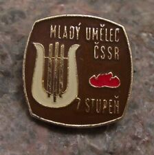 Czech Pioneer Scouts Youth Group Young Musician Artist Stage 2 Award Pin Badge