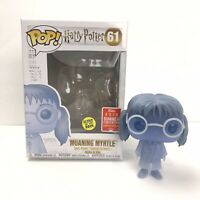 Funko Pop Harry Potter #61 Moaning Myrtle  2018 SDCC W/ Pop Protector