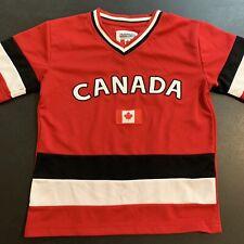 Team Canada Snowcap NHL Hockey Jersey - Kids Youth Size Medium (10-12)