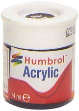 Humbrol Acrylic Paint - 14ml Pot (35 Colours Available)