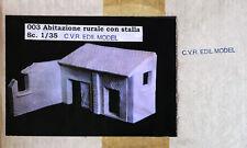 C.V.R. EDIL MODEL CVR EDILMODEL 003 - ABITAZIONE RURALE - 1/35 CERAMIC RESIN KIT