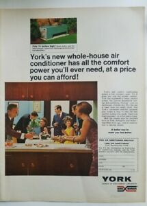 1968 York new whole house air conditioner conditioning vintage ad
