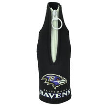Nfl Baltimore Ravens Zipper Coozies Bottle Drink Coolers Beer Slip Coolies Hugg