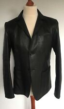 Gucci, Grainy Leather Jacket, Lammleder, schwarz, 50 (US 40R/M), neu, € 4.000,-