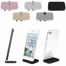 Charger Charging Dock Stand Station Cradle Mount For Apple iPhone 5 6 6s 7 Plus