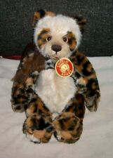 Charlie Bears Bart Qvc Exclusive Panda Bear Retired 12 Inch