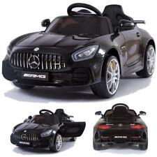 Mercedes-Benz GT-R AMG Kinderauto Kinderfahrzeug Kinder Elektroauto (schwarz)