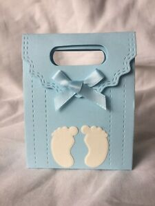 10 X Baby Shower Gift / Favour Boxes - Baby Shower / Gender Reveal