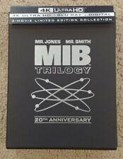 Men In Black Trilogy 1-3 Collection (4K Ultra Hd/Blu-ray 6-Disc Set)