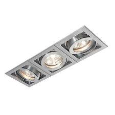Saxby Lighting Xeno triple 50W Aluminium -  52409