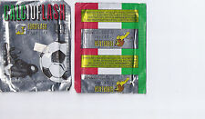 lot of 5 - 1995 Euroflash Italian Soccer STICKERS packs made in italy