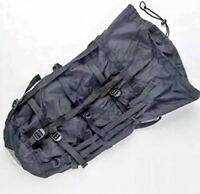 USGI  Military Issue 9 Strap Compression Stuff Sack Black Bivy Sleeping Bag