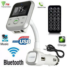 Bluetooth Wireless FM Transmitter MP3 Player SD USB Mobile Phone Charger Car Kit
