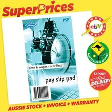ZIONS SYSTEMS◉PSP◉PAY SLIP PAD PADS◉50 SLIPS◉140 x 90 mm◉TIME & WAGES RECORDING◉