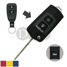 Flip Key Shell + Key Blank refit for HYUNDAI Tucson ix35 Remote Fob BS