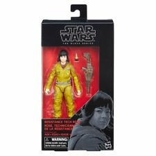 "HASBRO STAR WARS 6"" THE LAST JEDI BLACK SERIES ""RESISTANCE TECH ROSE wave 14 NEW"