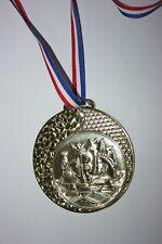 """Médaille """" Or """"  ÉCHECS  avec ruban diamètre 70 mm poids 50 gr"""