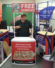 New Trade Show Counter Promo Table Kiosk Display Custom Printed Graphics