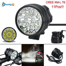 28000LM CREE XM-L T6 LED 18650 Bicycle Cycling Light Waterproof Flashlight Lamp