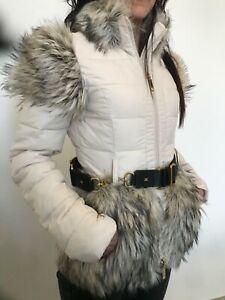 Elisabetta Franchi, Piumino invernale, color cipria luxury fashion...