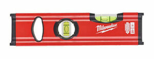 "Milwaukee Water Level Slim 20cm (8"") Non Magnetic RedStick Slim 4932472091 NEW"