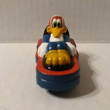 Vintage Woody Woodpecker Toy With Wheels Walter Lantz