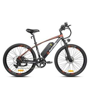 "2020 Rattan Challenger Plus Mountain 26"" Electric Bicycle 36V/10.4AH"